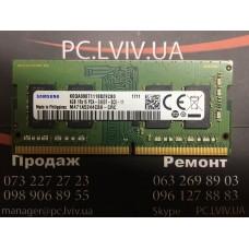 Пам'ять для ноутбука Samsung 4 ГБ SO-DIMM DDR4 2400 МГц (M471A5244CB0-CRC)