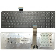 Клавіатура для ноутбука ASUS (K55, K75A, K75VD, K75VJ, K75VM, U57) rus, black, без фрейма