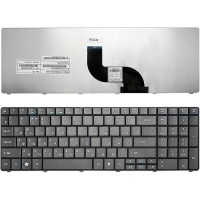 Клавіатура для ноутбука ACER (AS: E1-521, E1-531, E1-571; TM: 5335, 5542, 5735, 5740, 5742, 5744, 7740, 8571, 8572) rus, black