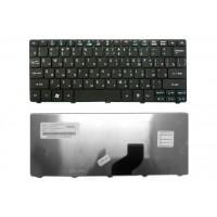 Клавіатура для ноутбука ACER (One: 521, 522, 532, 533, D255, D257, D260, D270, Happy; EM: 350, 355), rus, black