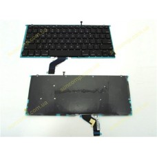 Клавиатура для ноутбука Apple A1425 US BackLight Black