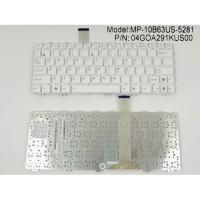 Клавиатура для ноутбука ASUS EeePC 1015PX US White