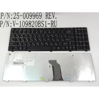 Клавіатура для ноутбука LENOVO IdeaPad G560, G565, G560E, G565A ( RU Black )