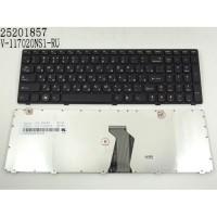 Клавіатура для ноутбука Lenovo Z580, G580 RU Black