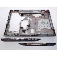 Нижня кришка для ноутбука Lenovo G570, G575 БЕЗ HDMI, black